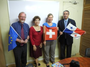 Director General CEP, Directora Administrativa CEP, Mirjam Wallimann PH Luzern, Federico Castro - Director regional de Educación