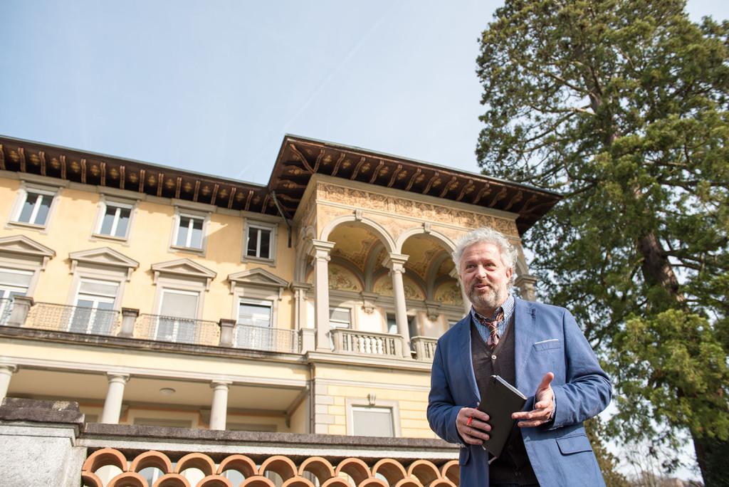 «Die Villa Bellerive bietet mir ein enormes Potenzial an Kreativität» erklärt Victor Saudan.