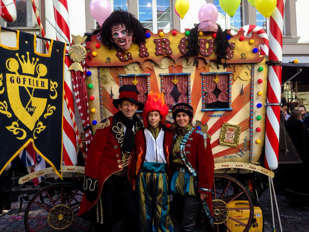 «Circus», das Motto 2016 / 2017 der «Göfeler» .